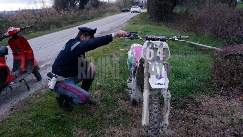 Elicottero Incidente : Incidente motocross ex cava santa giustina foto febbraio