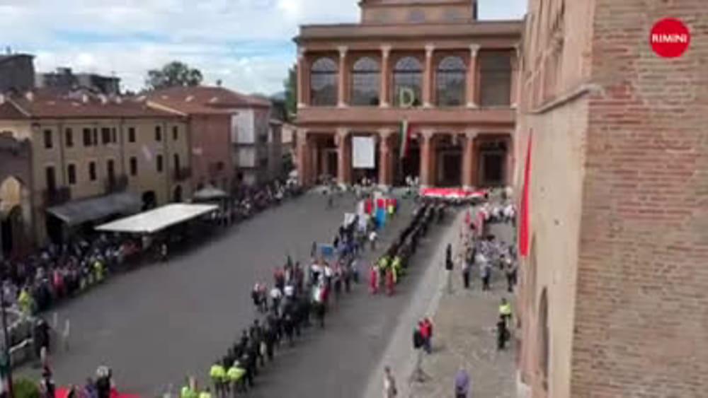 Rimini festeggia i 70 anni della nascita della repubblica for Repubblica italiana nascita