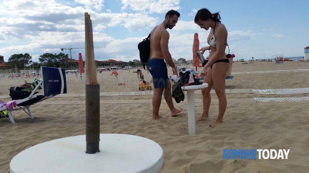 Tromba aria bagno 100 socorsi 18 maggio spiaggia24 - Bagno 100 riccione ...
